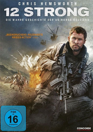 12 Strong - Wahre Geschichte d... (DVD) der US-Horse Soldiers, Min 130/DD5.1/WS
