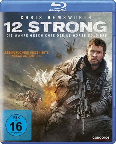 12 Strong - Wahre Geschichte d... (BR) der US-Horse Soldiers, Min 135/DD5.1/WS