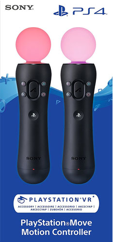 PS4  Move Controller Twin Pack  NEU
