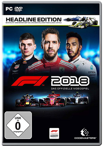 F1  2018  PC  Headline Edition