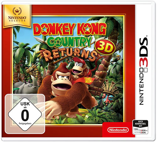 Donkey Kong Country Returns 3D 3DS SELEC TS