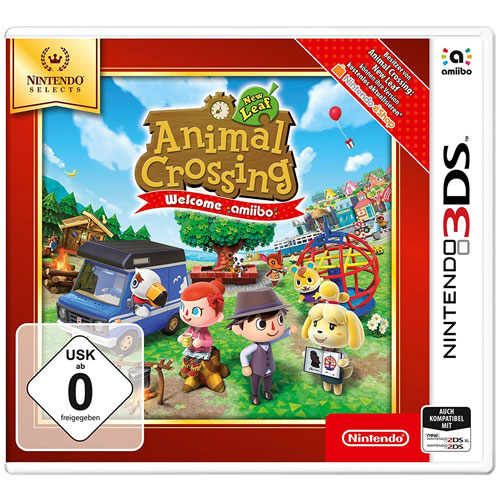 Animal Crossing  3DS  New Leaf  SELECTS Welcome Amiibo