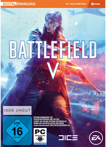 BF  5  PC Battlefield 5  Code in a box !!  VÖ 20.11.2018. beachten !!