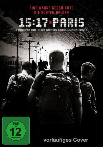 15:17 to Paris (DVD) Min: /DD5.1/WS