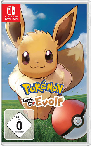Pokemon   Lets Go Evoli  SWITCH