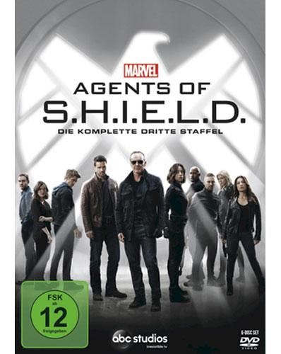 Marvel's Agents of SHIELD - SSN #3 (DVD) Min: /DD5.1/WS  Staffel #3, 6Discs