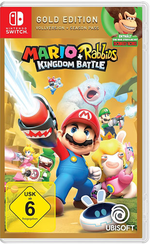 Mario & Rabbids  Switch  GOLD Kingdom Battle