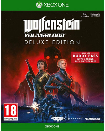 Wolfenstein 2  Youngblood  XB-One Deluxe Edition