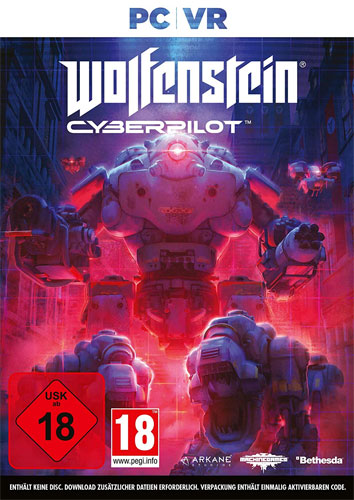 VR Wolfenstein Cyberpilot  PC Code in a Box