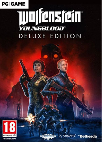 Wolfenstein 2  Youngblood  PC  AT Deluxe Edition