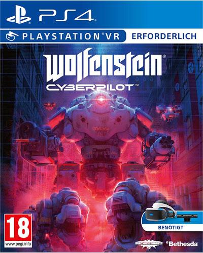 VR Wolfenstein Cyberpilot  PS-4  AT