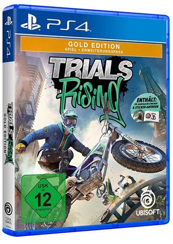 Trials Rising GOLD  PS-4