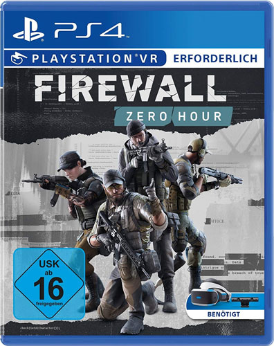 VR Firewall Zero Hour  PS-4