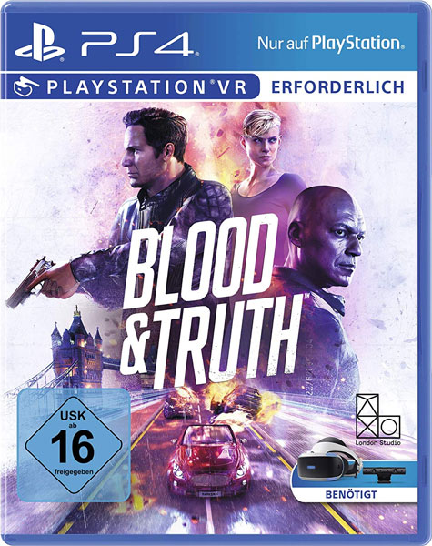 VR Blood & Truth  PS-4