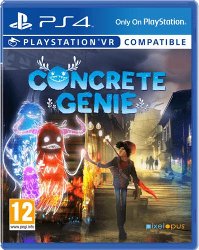 Concrete Genie  PS-4  AT