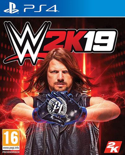 WWE  2k19  PS-4  AT