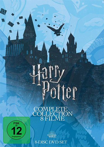 Harry Potter  Collection (DVD)  8Disc Slipcase, Alle 8 Filme, Repack 2018