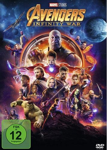 Avengers: Infinity War (DVD) Min: 143/DD5.1/WS