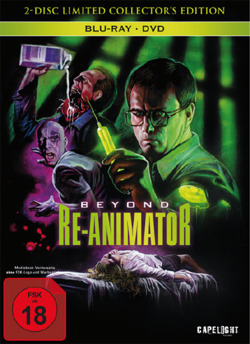 Beyond Re-Animator (BR+DVD) LCE  2Disc Limited Collectors Edition im Mediabook