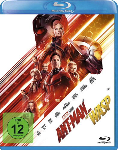 Ant-Man and the Wasp (BR)  MARVEL Min: 135/DD5.1/WS *VÖ: 29.11. BEACHTEN!