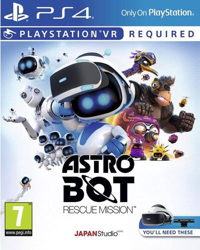 VR Astro Bot Rescue Mission  PS-4  AT