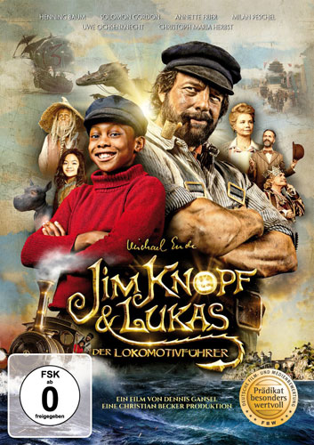 Jim Knopf und Lukas der Lokomotivf.(DVD) Min: /DD5.1/WS
