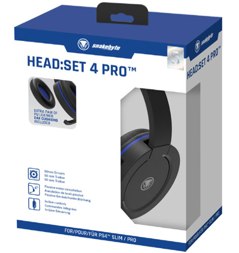 PS4 Headset Head Set 4 PRO