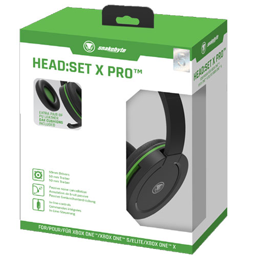XB-ONE Headset Head:Set X PRO