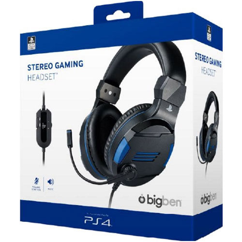 PS4 Headset Stereo V3  BIGBEN