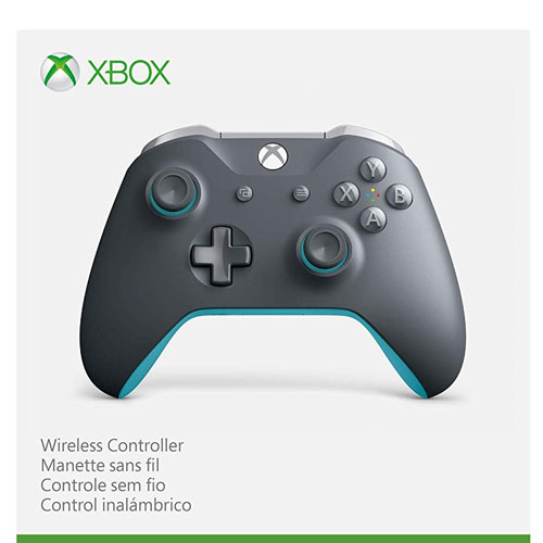 XB-One  Controller S org. grey/blue L.E. wireless