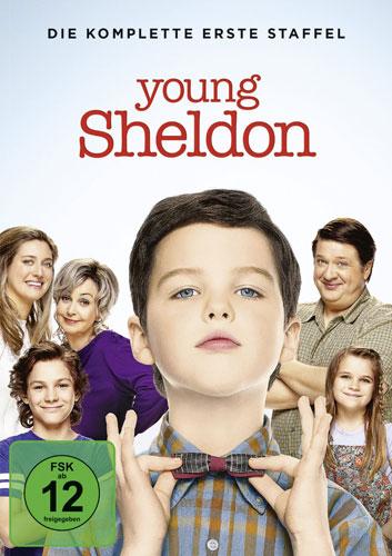 Young Sheldon - Staffel 1 (DVD) 2Disc Min: /DD/WS