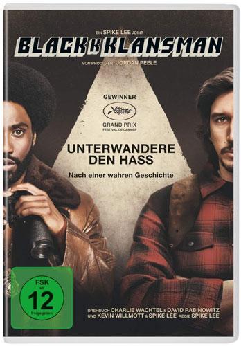 Blackkklansman (DVD) Min: