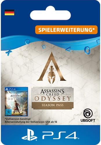 ESD AC Odyssey Season Pass Code wird als PDF Datei geliefert Assassins Creed Odyssey