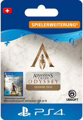 ESD AC Odyssey Season Pass CH Code wird als PDF Datei geliefert Assassins Creed Odyssey