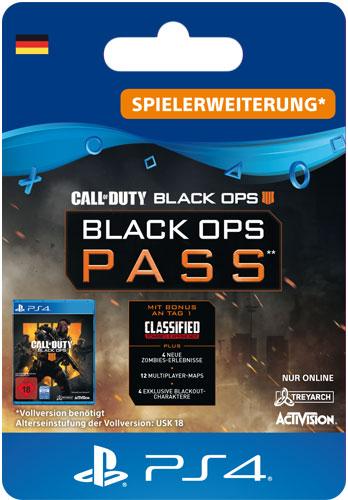 ESD CoD  BO4 Black Ops Pass Code wird als PDF Datei geliefert Call of Duty Black Ops 4