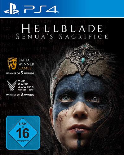 Hellblade Sensuas Sacrifice  PS-4