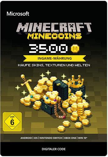 Minecraft   Pin  3500 MineCoins