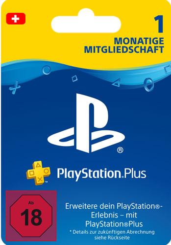 PSN Code   1 Monat NEU CH PlayStation+ Code wird als PDF Datei geliefert PlayStation Network