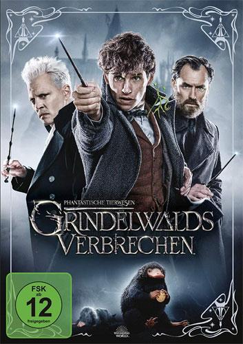 Phantastische Tierwesen #2 (DVD) Grindelwalds Verbrechen
