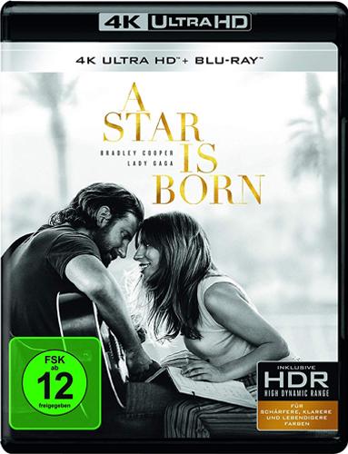 A Star is Born (UHD+BR) 2Disc Min: /DD5.1/WS