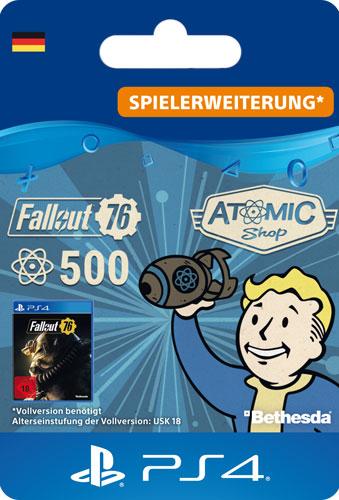 ESD Fallout 76 Atoms  500 Code wird als PDF Datei geliefert