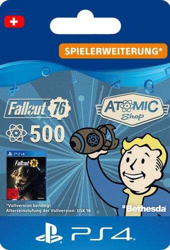ESD Fallout 76 Atoms  500 CH Code wird als PDF Datei geliefert