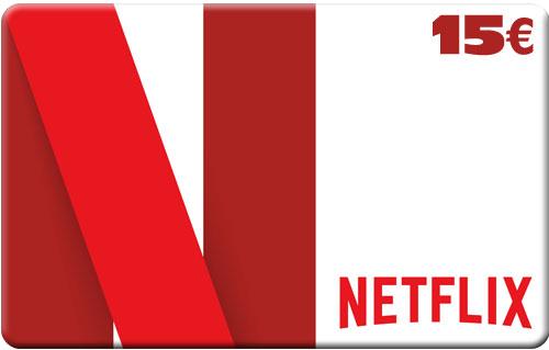 Netflix Pin  15 Euro Code wird als pdf geliefert