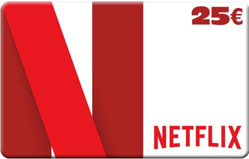 Netflix Pin  25 Euro Code wird als pdf geliefert