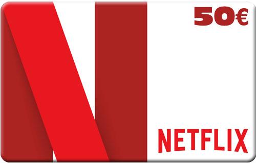 Netflix Pin  50 Euro Code wird als pdf geliefert