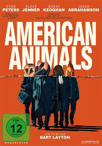 American Animals (DVD) Min: 116/DD5.1/WS