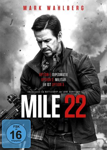 Mile 22 (DVD) Min: 91/DD5.1/WS
