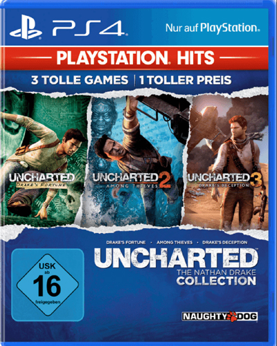 Uncharted N.Drake Coll. PS-4 PSHits Softwarepyramide