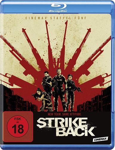 Strike Back - kompl. Staffel 5 (BR) Min: /DD5.1/WS       3Disc