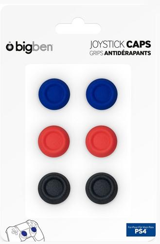 PS4 Controller Cap Set  6-er  BIGBEN Thumb Grips